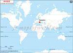 Carte de localisation du Roumanie sur la carte mondiale