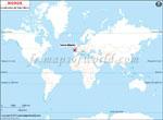 Carte de localisation du Saint-Marin sur la carte mondiale