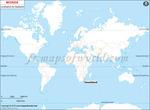 Carte de localisation du Swaziland sur la carte mondiale