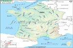 Carte De Fleuve De France