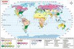 Carte De Climat Du Monde