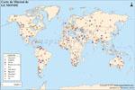 Carte De Minerai Du Monde