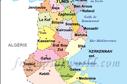 Tunisie Carte