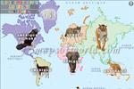 Carte Du Monde Pour Des Enfants