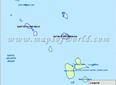 Carte de la Guadeloupe