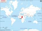 Où se trouve Tchad