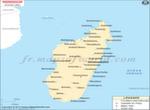 Madagascar Ville Carte