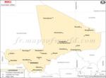 Mali villes carte