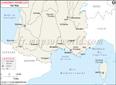 Sud de la France Carte du réseau ferroviaire