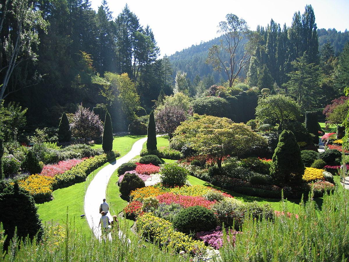 Les jardins butchart canada destinations de voyage du for Jardins exceptionnels